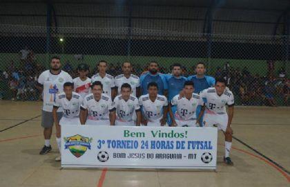 Bom Jesus do Araguaia realiza torneio 24 horas de Futsal e entrega quase R$ 20 mil em premiações