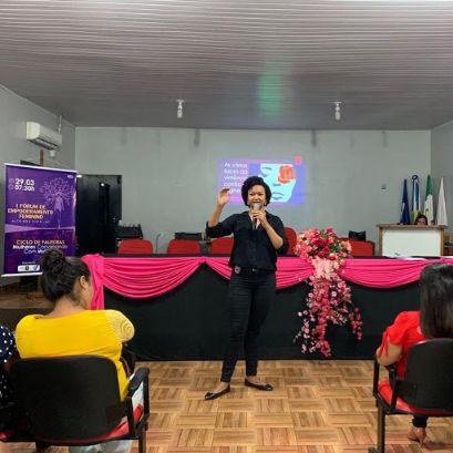 Escrivã de Alto Boa Vista fomenta ações de prevenção a violência contra mulher