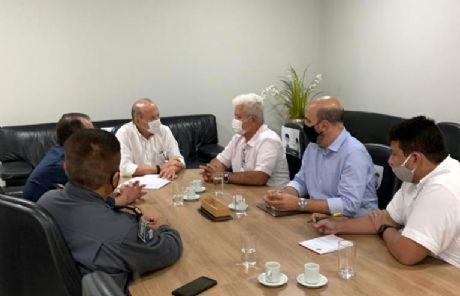 Prefeito de Vila Rica confirma parceria para implantação de Escola Militar no município